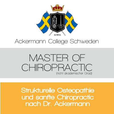 Sanfte Chiropraktik nach Dr. Ackermann